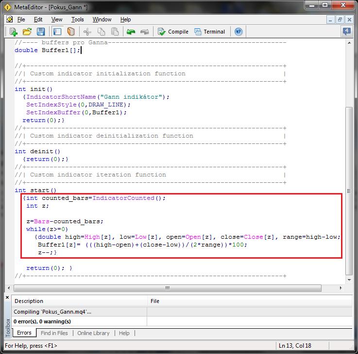 Forex mt4 programming
